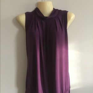 Women top purple